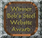 Winner of Bob Steel Website Award!!