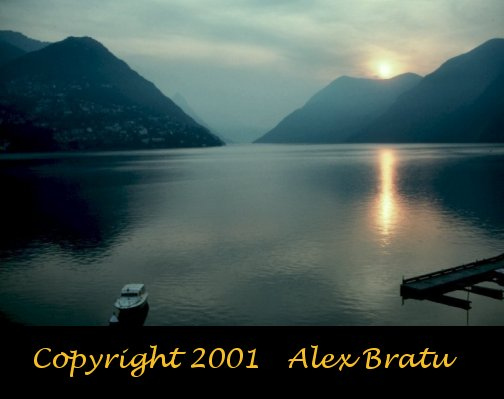 Lake Lugano Sunset